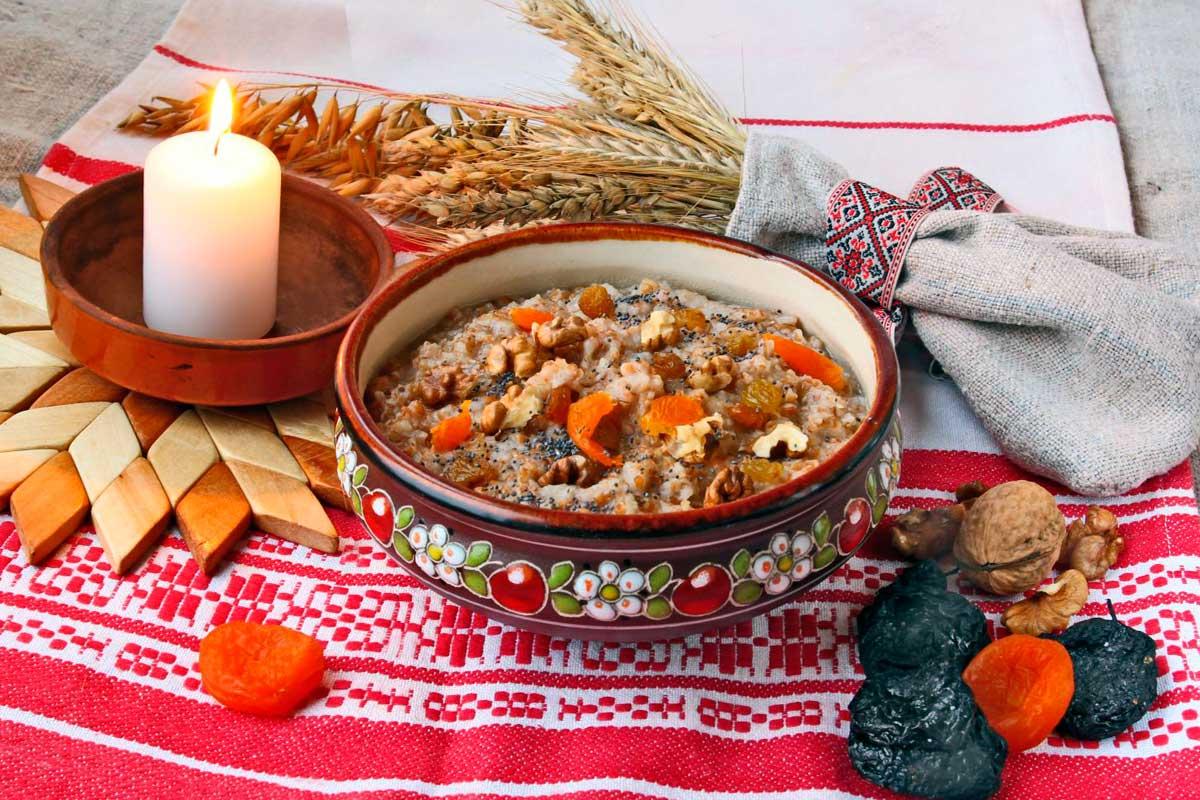 Рождественские блюда, традиционные 12 блюд, рецепты кутьи, меню