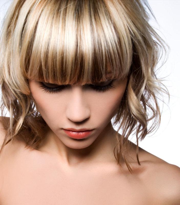 Колорирование волосы фото в домашних условиях 497