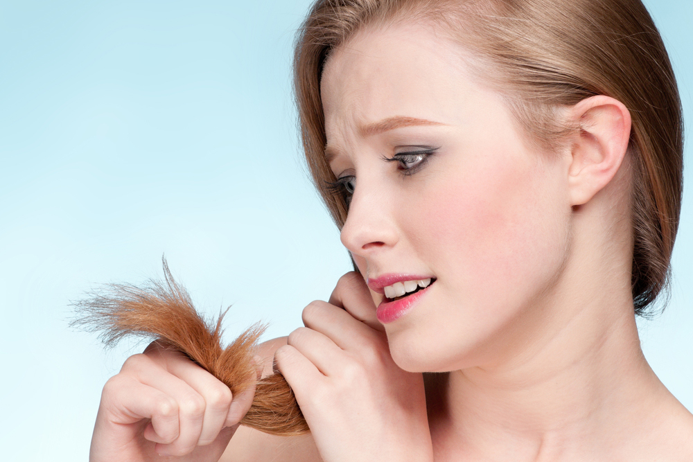 Витамины для сухих и ломких волос