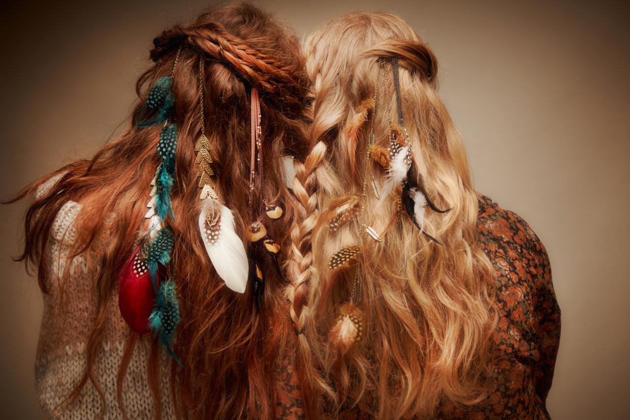 Причёски в стили хиппи