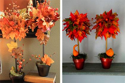 Осенняя икебана своими руками фото 599