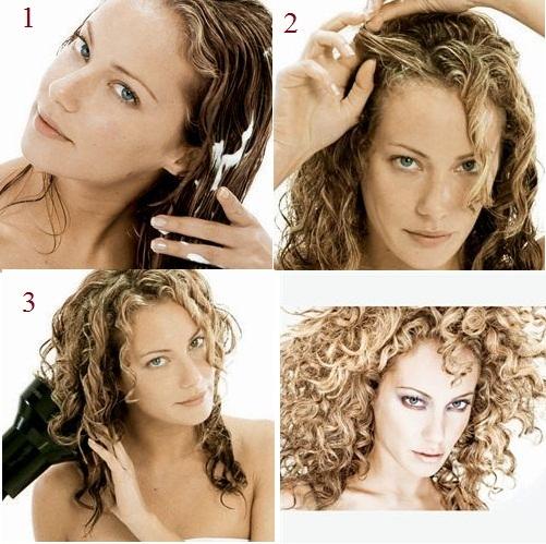 Причёски на каждый день из волнистых волос средней длины