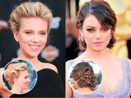 красивые прически на волосы средней длины фото