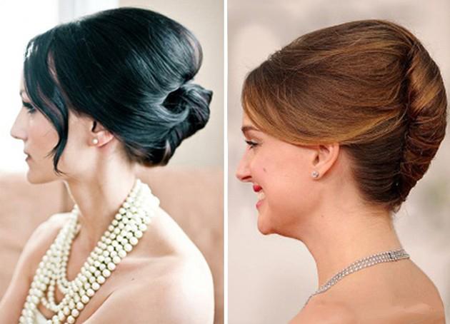 Прически для длинных волос Деловой стиль Стрижки и прически strh