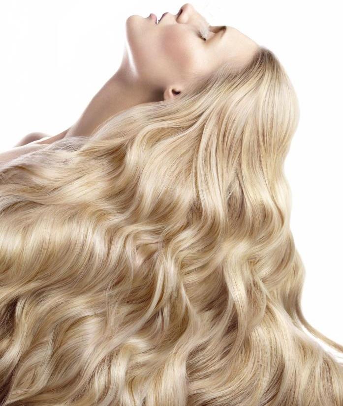 как осветлить волосы щадяще
