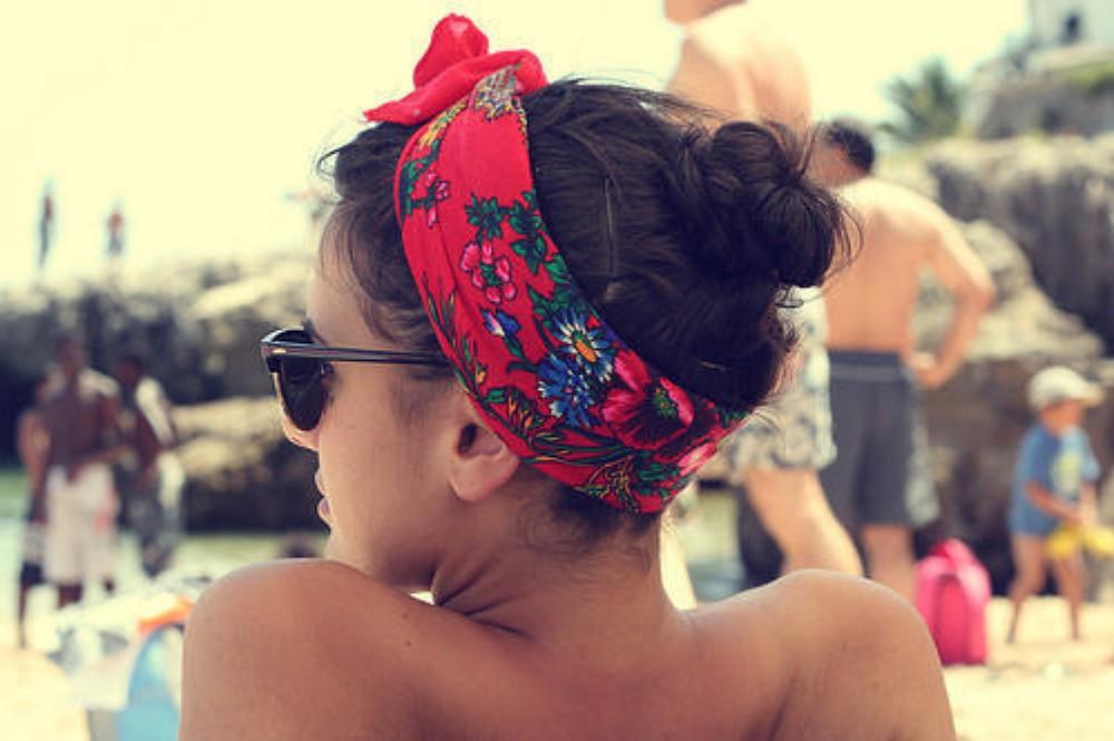 Прически для пляжа для девочек