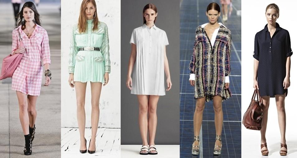 Платья в моде 2013