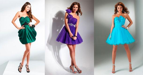 Самые шикарные платья короткие
