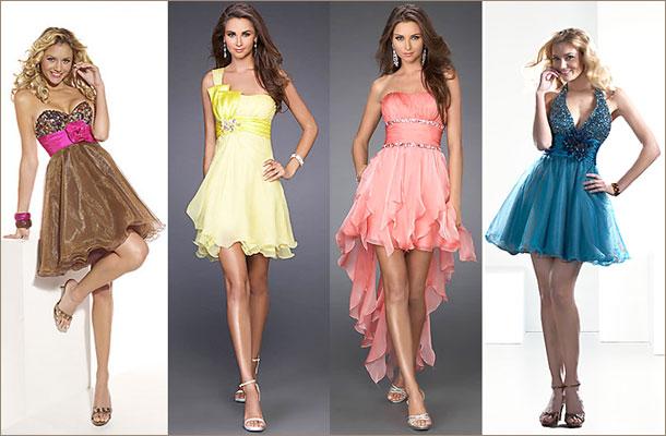 Моделирование выпускного платья