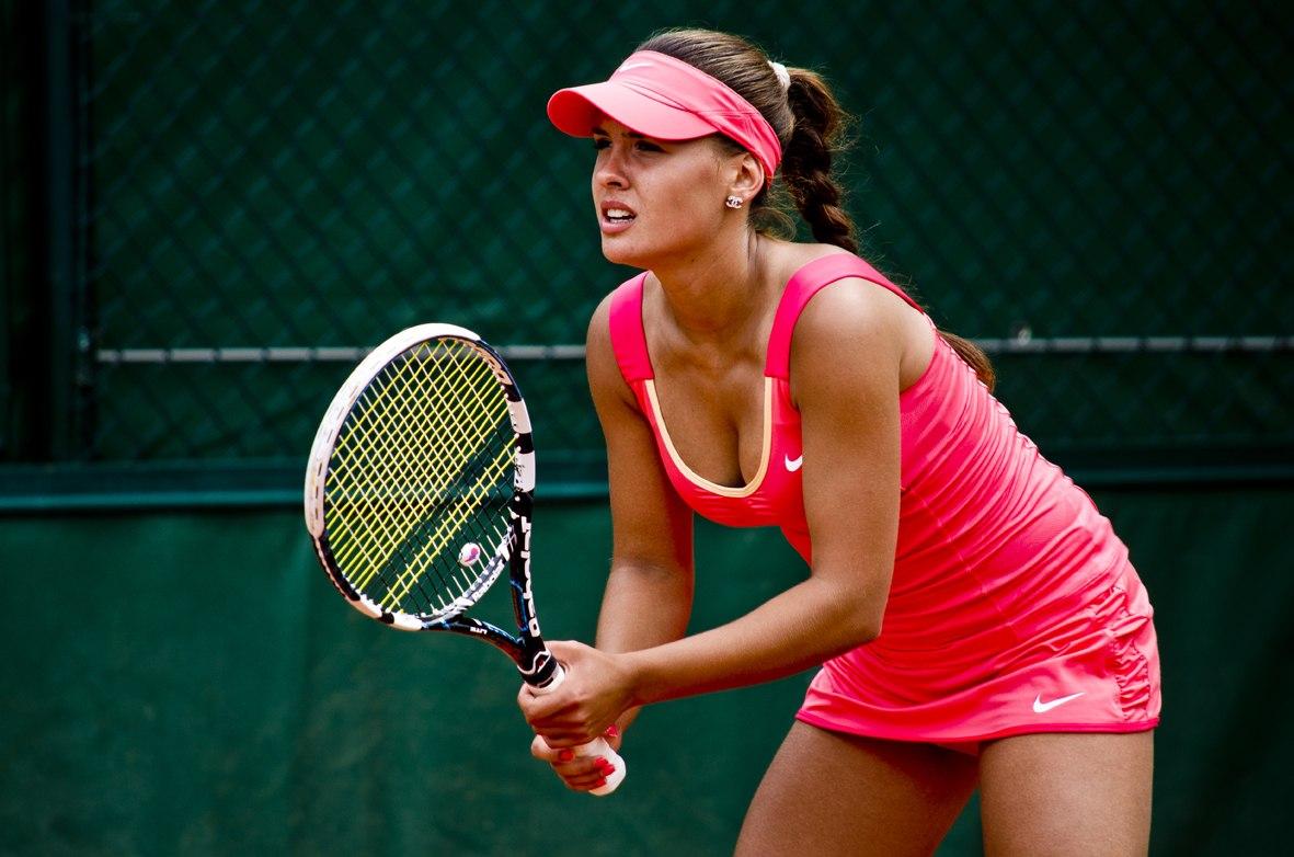 Причёска теннис женская
