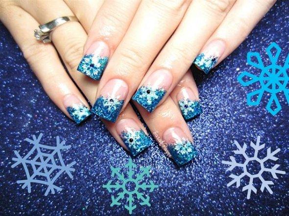 Дизайн ногтей под новый год