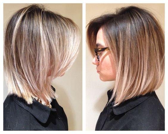 Стрижка на волосы средней длины 2017