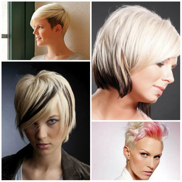 two tone hair color styles двойное окрашивание волос 25 фото тренды 3392