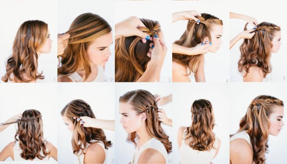 Как сделать прическу бантик из волос пошаговая инструкция