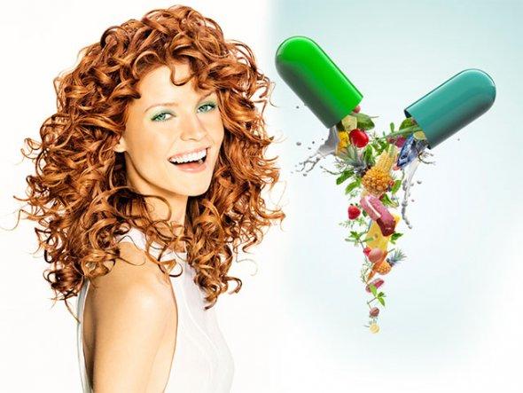 витамины для волос, витамины для роста волос