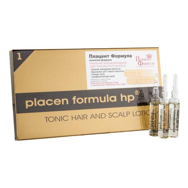 """Средство против интенсивного выпадения волос """"Плацент Формула"""""""