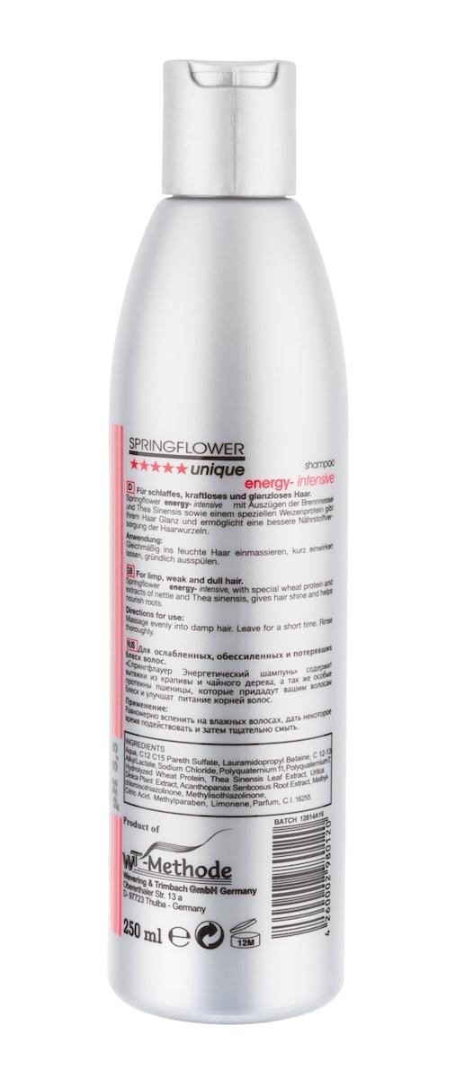 Шампунь «Подснежник» энергия для слабых волос – Energy Intensive Shampoo