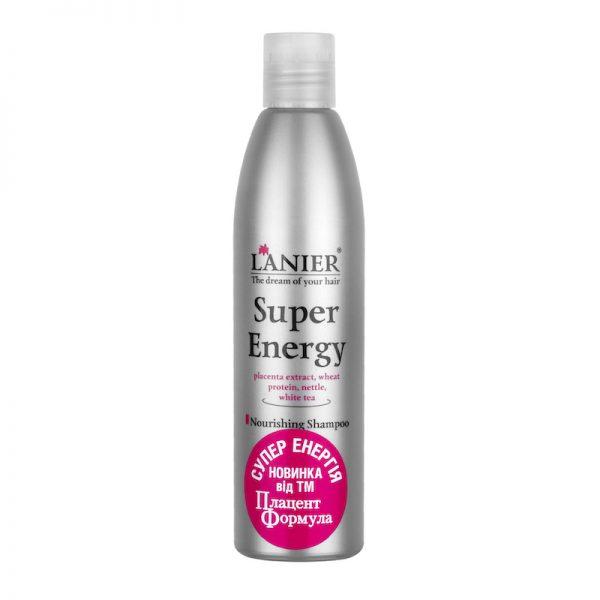 """Питательный  шампунь с плацентой Ланьер """"Супер Энергия"""""""
