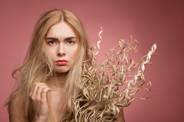 Сухие и непослушные волосы - что делать?
